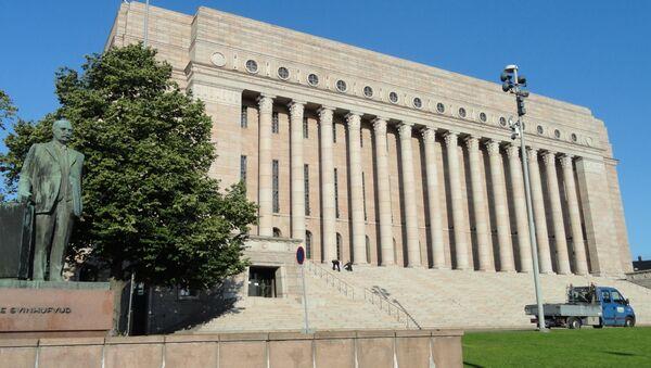 Здание парламента Финляндии. Архивное фото - Sputnik Азербайджан