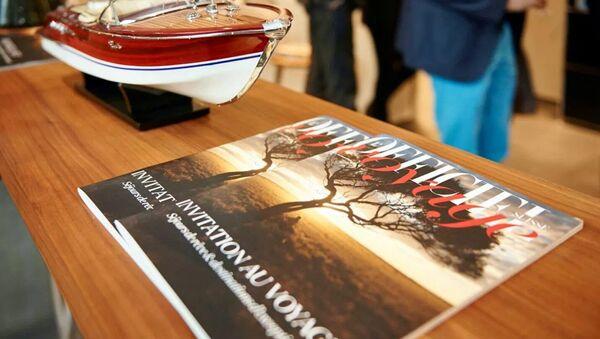 Журнал о путешествиях L'Officiel Voyage. Архивное фото - Sputnik Азербайджан