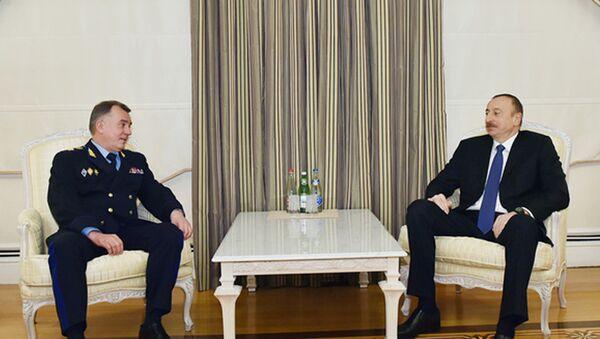 Встреча Ильхама Алиева и Владимира Кулишова - Sputnik Азербайджан