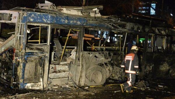 Взрыв в Анкаре - Sputnik Азербайджан