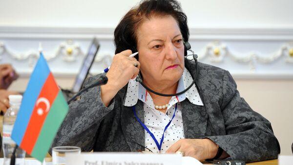 Эльмира Сулейманова, уполномоченная по правам человека в Азербайджане, омбудсмен - Sputnik Азербайджан