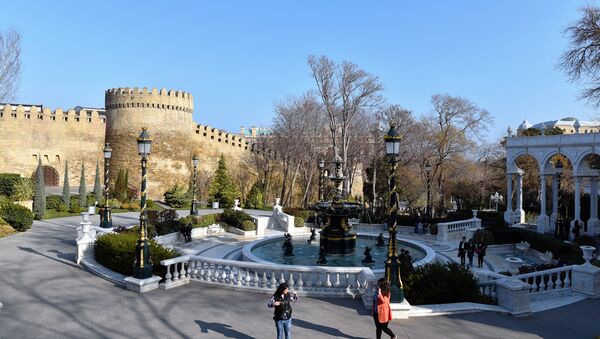 Губернаторский сад в Баку - Sputnik Азербайджан