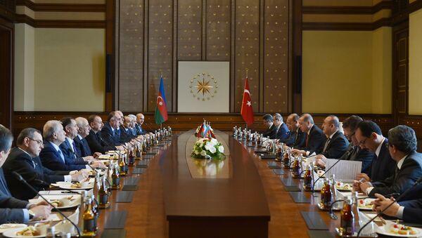 Пятое заседание Совета стратегического сотрудничества высокого уровня Азербайджан-Турция - Sputnik Азербайджан