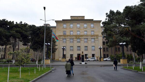Здание Республиканской клинической больницы - Sputnik Азербайджан
