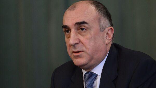 Министр иностранных дел Азербайджанской Республики Эльмар Мамедъяров - Sputnik Азербайджан