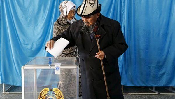 Выборы в Казахстане - Sputnik Азербайджан