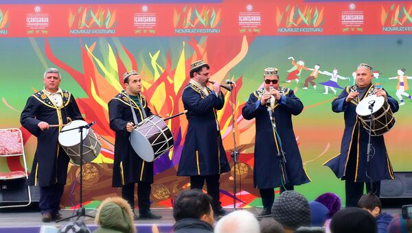 Празднование Новруза в Баку - Sputnik Азербайджан
