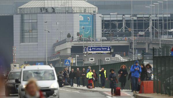 Брюссельский аэропорт - Sputnik Азербайджан