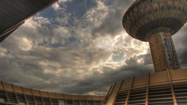 Старый терминала международного аэропорта Звартноц - Sputnik Азербайджан
