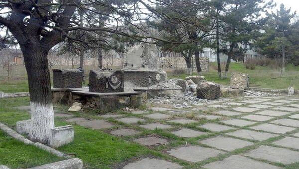 Мемориал в Пересечине - Sputnik Азербайджан