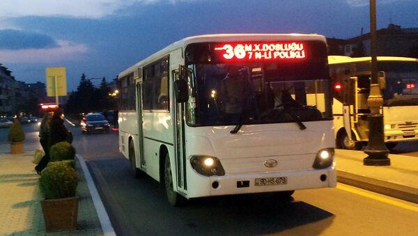 Автобус. Архивное фото - Sputnik Азербайджан