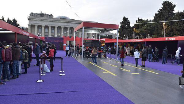 Фан-зона Формулы-1 в Баку - Sputnik Azərbaycan