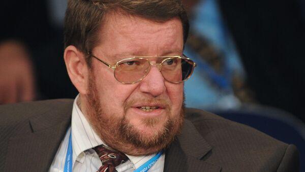Президент Института Ближнего Востока Евгений Сатановский - Sputnik Азербайджан