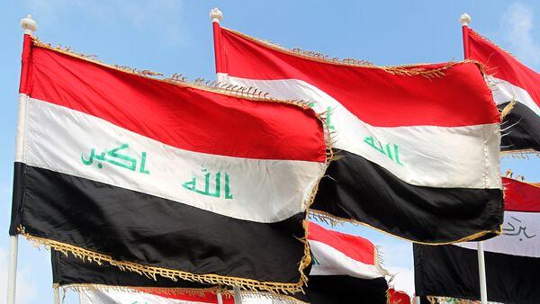Флаги Ирака. Архивное фото - Sputnik Azərbaycan