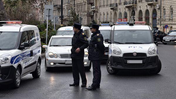 Сотрудники патрульно-постовой службы - Sputnik Азербайджан