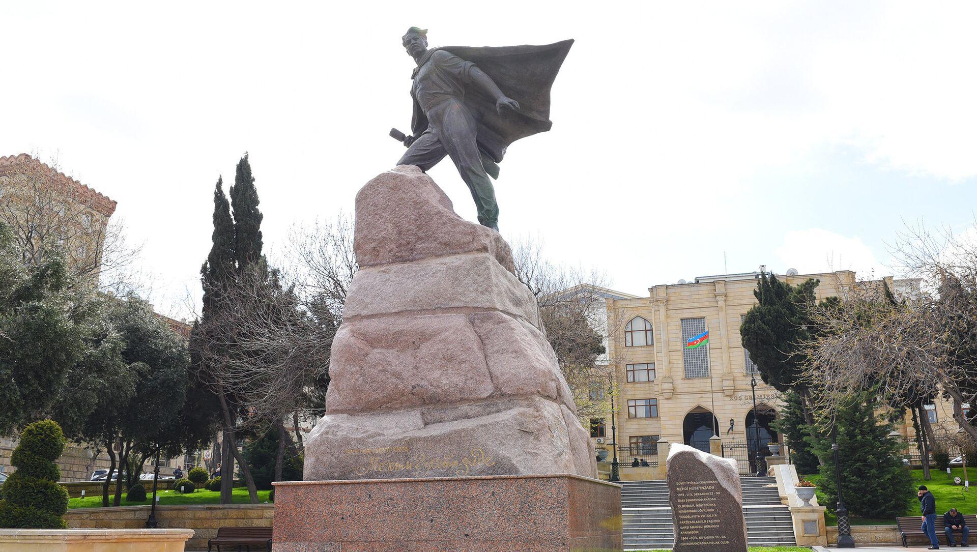 Мехти Гусейн-заде, советский лейтенант, югославский партизан и разведчик - Sputnik Азербайджан, 1920, 07.02.2021