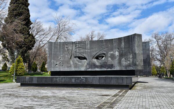 Памятник Рихарду Зорге в Баку - Sputnik Азербайджан
