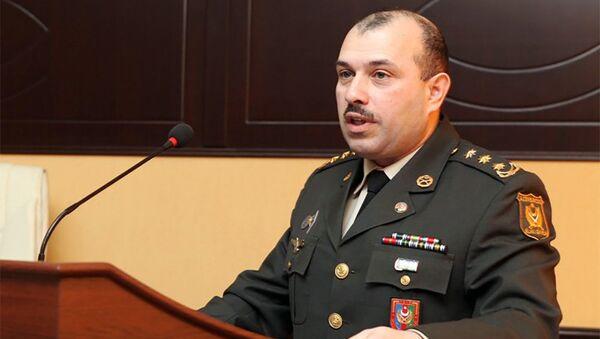 Пресс-секретарь Минобороны АР, полковник Вагиф Даргяхлы - Sputnik Азербайджан