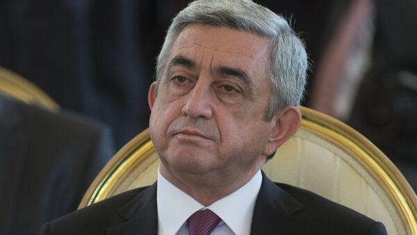 Serj Sarkisyan - Sputnik Azərbaycan