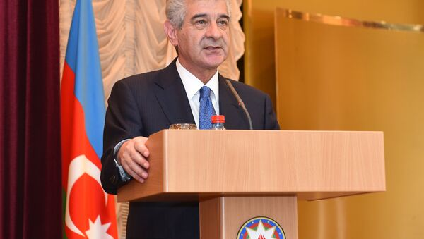Вице-премьер Азербайджана Али Ахмедов - Sputnik Азербайджан