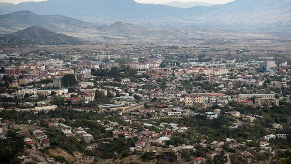 Вид на город Ханкенди - Sputnik Азербайджан