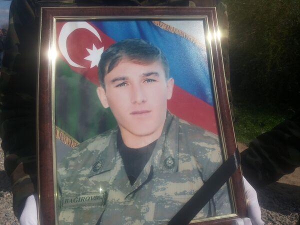 Сархан Багиров был призван к военной службе в октябре прошлого года - Sputnik Азербайджан