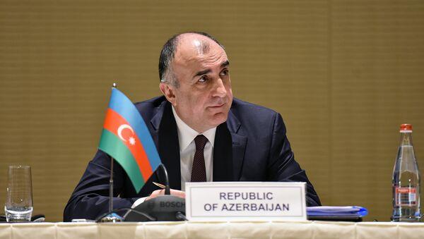 Elmar Məmmədyərov, Azərbaycan Respublikasının xarici işlər naziri - Sputnik Азербайджан