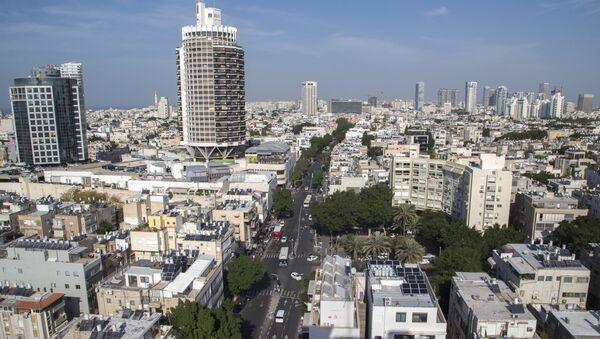 Город Тель-Авив в наши дни, фото из архива - Sputnik Азербайджан