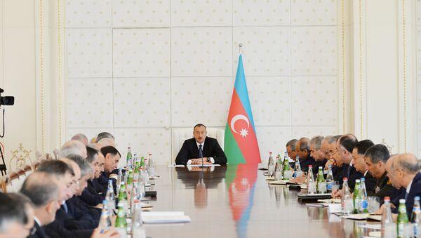 Nazirlər Kabinetinin iclası - Sputnik Azərbaycan