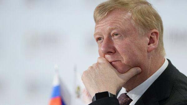 Анатолий Чубайс, председатель правления ООО УК Роснано - Sputnik Азербайджан