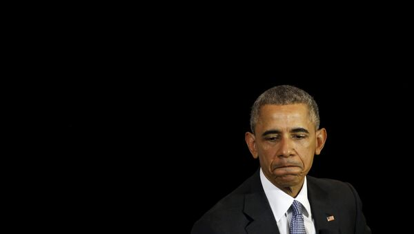 Барак Обама, президент США - Sputnik Азербайджан
