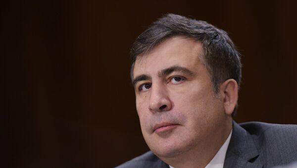 Михаил Саакашвили, глава Одесской областной государственной администрации - Sputnik Азербайджан