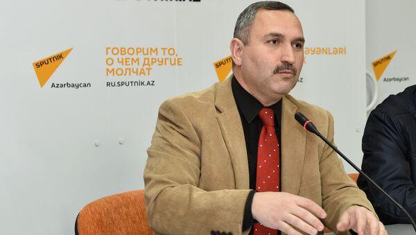 Азер Аллахверанов, глава Общественного совета при Государственной миграционной службе - Sputnik Азербайджан