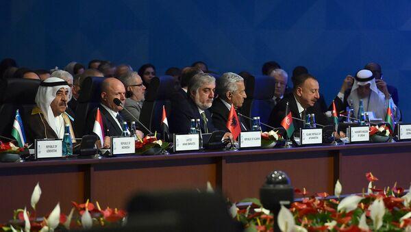 Выступление Президента Ильхама Алиева на XIII Саммите Организации исламского сотрудничества - Sputnik Azərbaycan