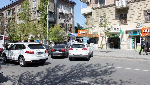 Parkinq və tıxaclar - Sputnik Azərbaycan