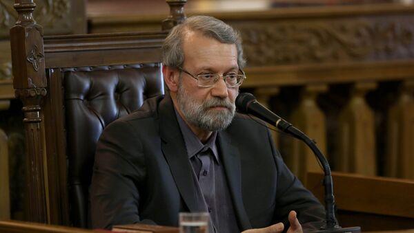 Əli Laricani, İran parlamentinin sədri - Sputnik Азербайджан