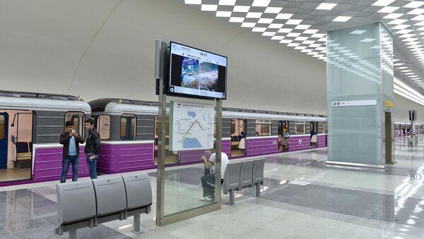 Новая ветка Бакинского метрополитена - Sputnik Azərbaycan