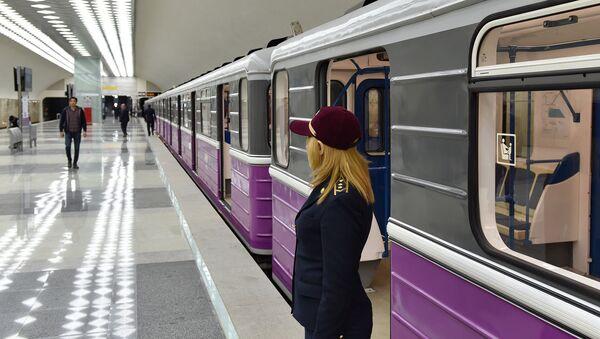 Новая ветка Бакинского метрополитена - Sputnik Азербайджан
