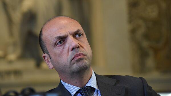 Анджелино Альфано, глава МИД Италии, фото из архива - Sputnik Азербайджан