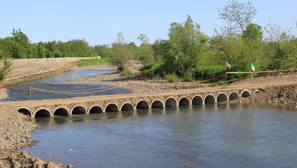 Мост через реку Астара - Sputnik Азербайджан