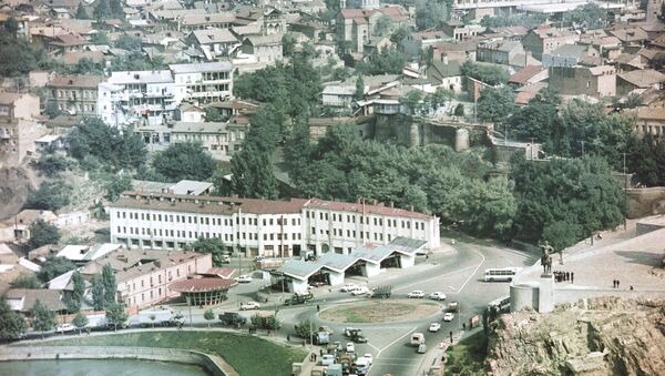 Тбилиси. Архивное фото - Sputnik Азербайджан
