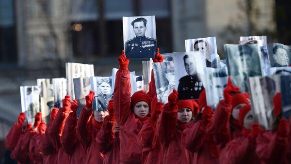 Торжественный марш, посвященный легендарному параду 1941 года - Sputnik Азербайджан