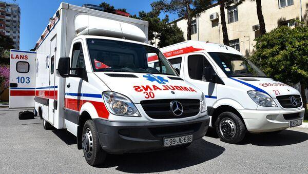 Новое оснащение скорой помощи - Sputnik Азербайджан