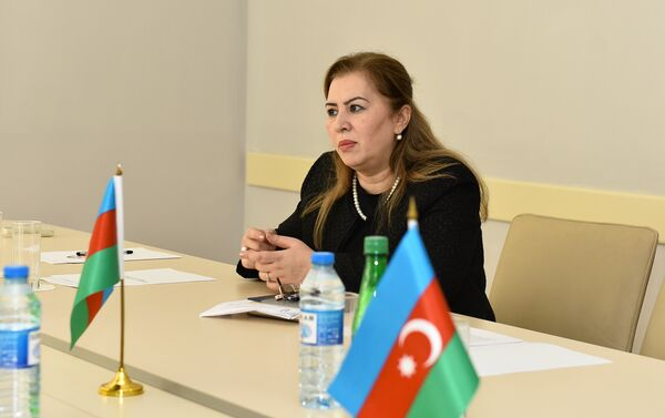 Заведующая 10 подстанцией БССНМП Тарана Шахмамедова - Sputnik Азербайджан