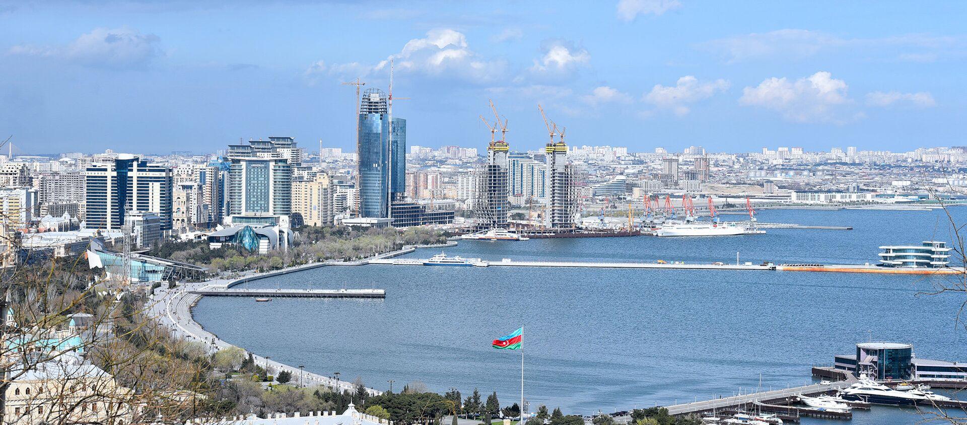 Панорама Баку  - Sputnik Азербайджан, 1920, 18.02.2021