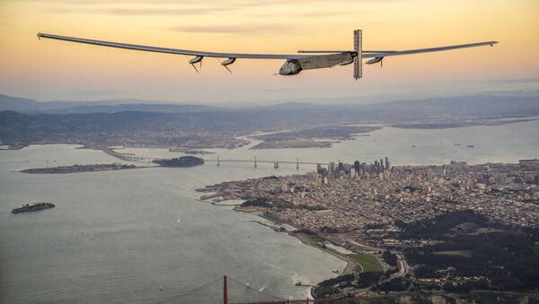 Solar Impulse 2 - Sputnik Azərbaycan