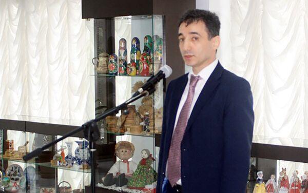Гудси Османов, заместитель Чрезвычайного и Полномочного Посла Азербайджанской Республики в Российской Федерации - Sputnik Азербайджан