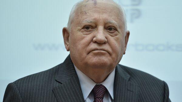 Бывший президент СССР Михаил Горбачев - Sputnik Azərbaycan