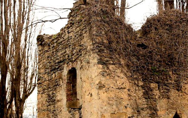 Данная крепость построена во времена Сасанидов, то есть в IV-V веках - Sputnik Азербайджан