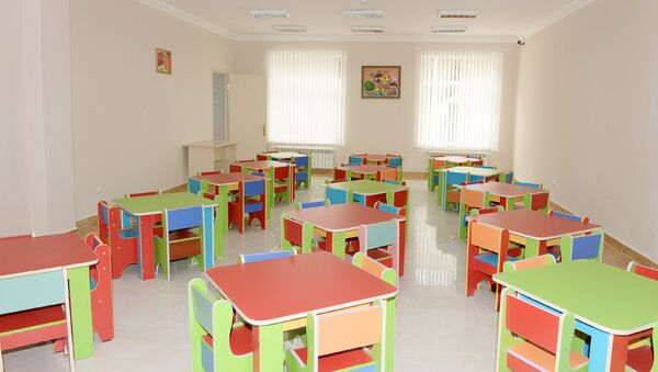 Детский садик в Баку - Sputnik Азербайджан
